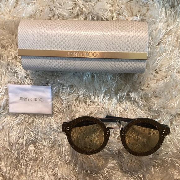 46ae55f72b5 Jimmy Choo Round Sunglasses